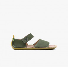 Vivobarefoot Ababa Leather Sandals Kids botanical Green