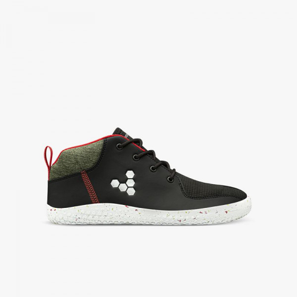 Vivobarefoot Primus Bootie All Weather Junior Obsidian