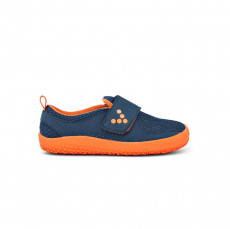 Vivobarefoot Mini Primus Kids Mesh Navy / Orange