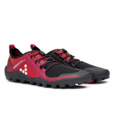 Vivobarefoot PRIMUS TRAIL SG Ladies Mesh Black/Red