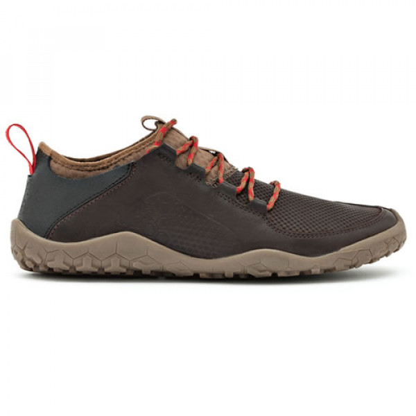 Vivobarefoot PRIMUS TREK Ladies Leather Dk Brown